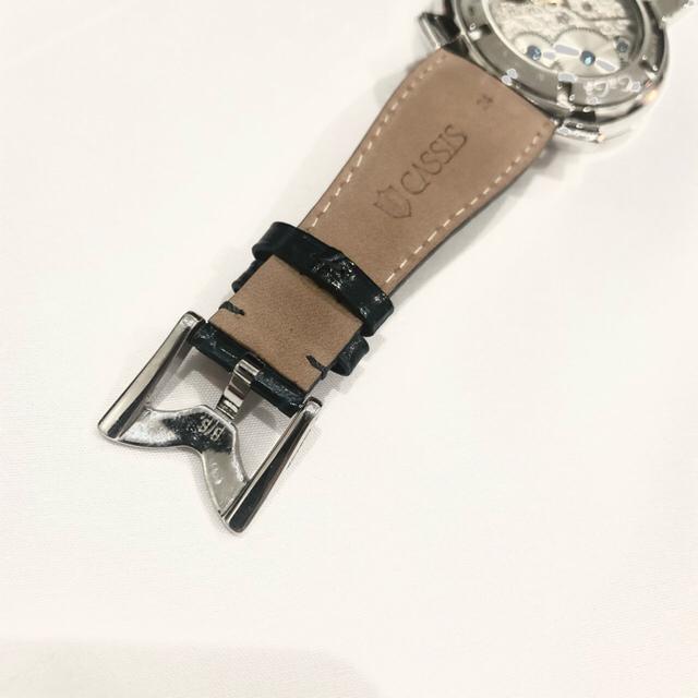 GaGa MILANO(ガガミラノ)のガガミラノ GagaMirano 機械式腕時計 メンズ モザイク 迷彩 メンズの時計(レザーベルト)の商品写真