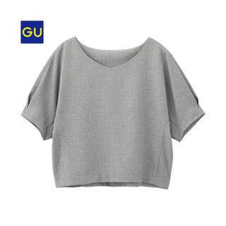 ジーユー(GU)のGU ボクシープルオーバー(シャツ/ブラウス(半袖/袖なし))