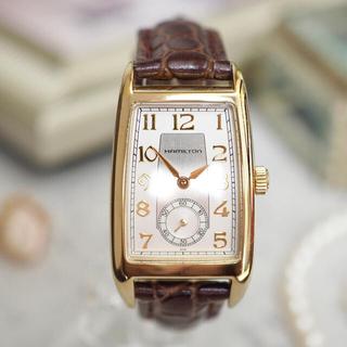 ハミルトン(Hamilton)の超美品✴︎ハミルトン ブルック 新品ベルト✴︎オメガ ドゥロワー ロレックス(腕時計)