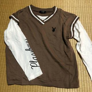 プレイボーイ(PLAYBOY)のplayboy しまむら Tシャツ(Tシャツ(長袖/七分))