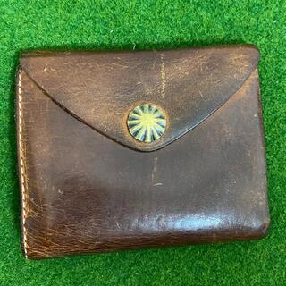 ダブルアールエル(RRL)のRRL レザー コンチョ ウォレット(折り財布)