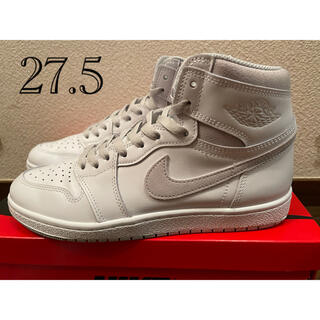 "ナイキ(NIKE)のNIKE AIR JORDAN 1 HIGH 85 ""NEUTRAL GREY""(スニーカー)"