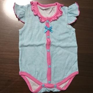 ニシキベビー(Nishiki Baby)のニシキ ロンパース60サイズ  二枚(ロンパース)