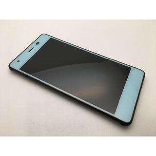 京セラ - SIMフリー中古au Qua phone QZ KYV44 チョコミント104