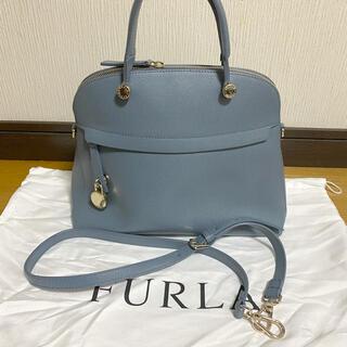 Furla - 美品✳︎FURLA パイパーMサイズ ブルーグレー