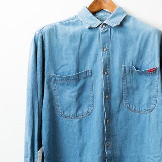 ラングラー(Wrangler)のWrangler ラングラー  U.S.A デニムシャツ Lサイズ(シャツ)