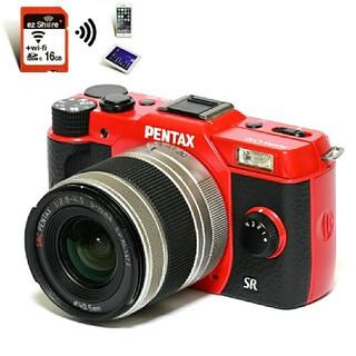 PENTAX - 【PENTAX】Wi-Fiでスマホへ転送★衝撃的に小さいミラーレス一眼☆Q10