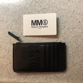 エムエムシックス(MM6)のMM6 エムエム6 メゾンマルジェラ カードケースコインケース ウォレット(財布)
