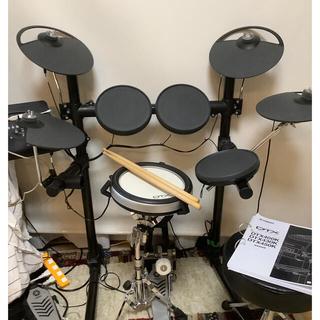 ヤマハ(ヤマハ)のゆいゆい様専用YAMAHA 電子ドラム DTX480KSC①(電子ドラム)