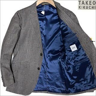 タケオキクチ(TAKEO KIKUCHI)のJ4052 新品 タケオキクチ CITY SETTER トラベルジャケット M(テーラードジャケット)