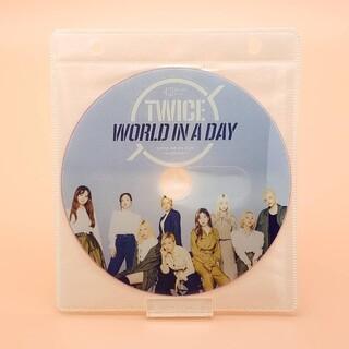 ウェストトゥワイス(Waste(twice))の大人気💖最新作💖TWICE トゥワイス WORLD IN DAY DVD1枚(アイドル)