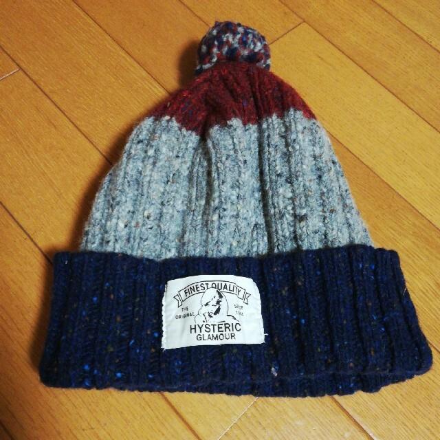 HYSTERIC GLAMOUR(ヒステリックグラマー)のヒステリックグラマーニット帽 レディースの帽子(ニット帽/ビーニー)の商品写真