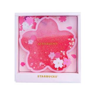 スターバックス コースター さくら キラキラ 桜 スタバ(収納/キッチン雑貨)