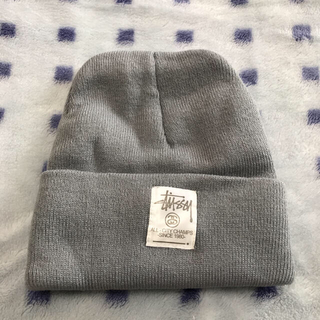 STUSSY - 【新品・未使用】stussy ステューシー ニット帽 グレーと黒