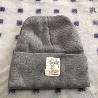 STUSSY - 【新品・未使用】stussy ステューシー ニット帽 グレー