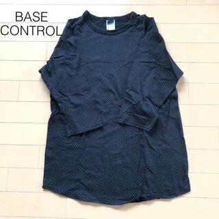 ベースコントロール(BASE CONTROL)のベースコントロール ドット柄ラグランT(Tシャツ/カットソー(半袖/袖なし))