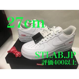 シュプリーム(Supreme)の白 27cm Supreme Nike Air Force 1 Low ①(スニーカー)
