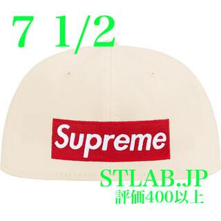 シュプリーム(Supreme)の7 1/2 Supreme Reverse Box Logo New Era(キャップ)