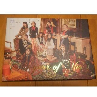 ウェストトゥワイス(Waste(twice))のTWICE The year of yes CDチェヨン (K-POP/アジア)