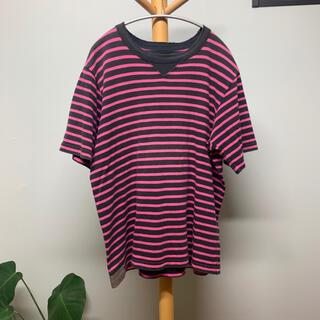 サカイ(sacai)のsacai ボーダーTシャツ(Tシャツ/カットソー(半袖/袖なし))