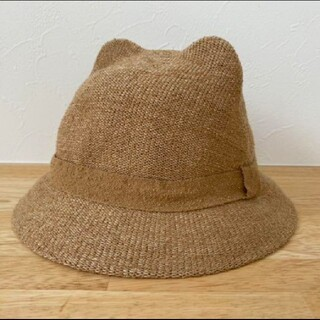 ザラ(ZARA)のzara  猫耳 帽子(帽子)