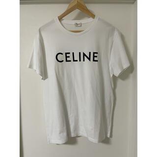 セリーヌ(celine)の国内正規品極上美品セリーヌ ロゴTシャツ白M(Tシャツ/カットソー(半袖/袖なし))