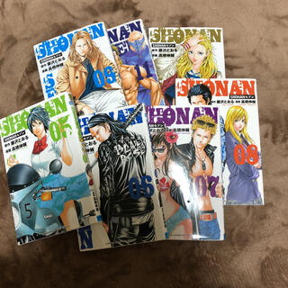 アキタショテン(秋田書店)のSHONANセブン 05.06.07.08.09.11.12(少年漫画)