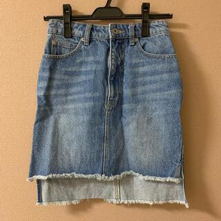 JILLSTUART - ジルスチュアート デニムタイトスカート ミニスカート デニムミニスカート
