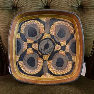 ロイヤルコペンハーゲン(ROYAL COPENHAGEN)のロイヤルコペンハーゲン バッカ 角皿(陶芸)