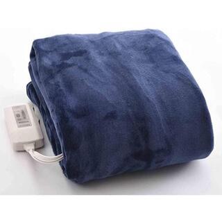 ヤマゼン(山善)のYAMAZEN 電気毛布 YMS-FK31(BL)ブルー(電気毛布)