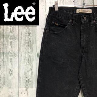 Lee デニムパンツ ブラック W32L32 色落ち ジーンズ ジーパン 古着