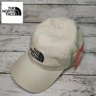 THE NORTH FACE - The North Face ロゴキャップ ☆新品☆ ホワイト ノース フェイス