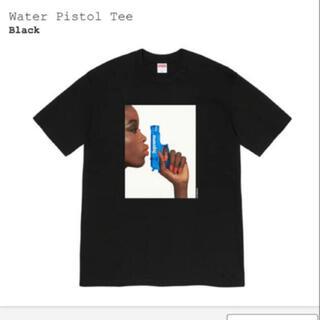 シュプリーム(Supreme)のSupreme Water Pistol Tee 黒M 新品未使用(Tシャツ/カットソー(半袖/袖なし))