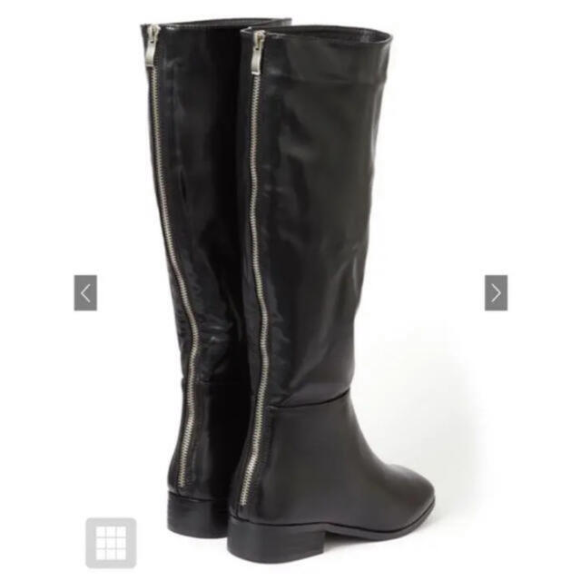 GRL(グレイル)のスクエアトゥミドル丈ブーツ レディースの靴/シューズ(ブーツ)の商品写真