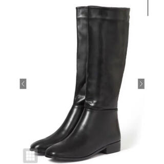 GRL - スクエアトゥミドル丈ブーツ