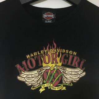 ハーレーダビッドソン(Harley Davidson)のハーレーダビッドソン☆モーターガールTシャツ(Tシャツ(半袖/袖なし))