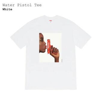 シュプリーム(Supreme)のSサイズ Supreme Water Pistol Tee ホワイト(Tシャツ/カットソー(半袖/袖なし))