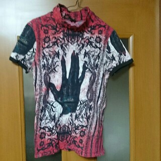 ジャンポールゴルチエ(Jean-Paul GAULTIER)のジャンポール・ゴルチエ  ネイティブ ハンド ネックTシャツ(Tシャツ/カットソー(半袖/袖なし))