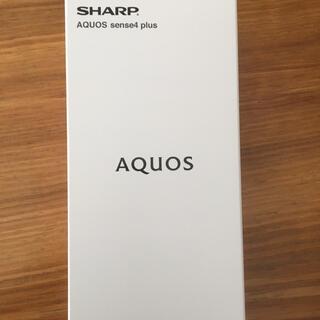 SHARP - SHARP SIMフリースマホ AQUOS sense4 plus ブラック