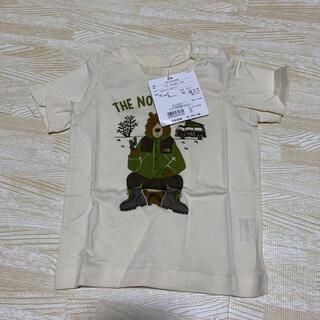 THE NORTH FACE - タグ付き ノースフェイスベビー キッズ Tシャツ くまさん ロゴ 人気完売