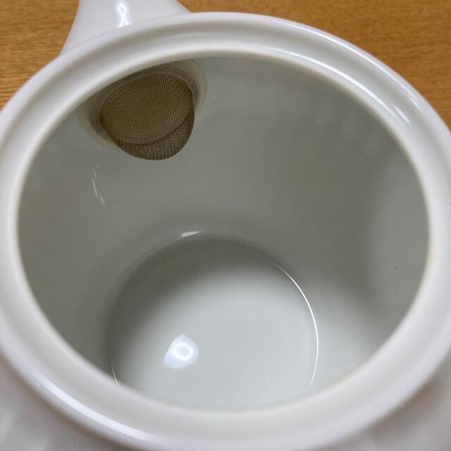 NIKKO(ニッコー)のNIKKO☆ニッコー☆日本老舗メーカー白磁ティーポット インテリア/住まい/日用品のキッチン/食器(食器)の商品写真