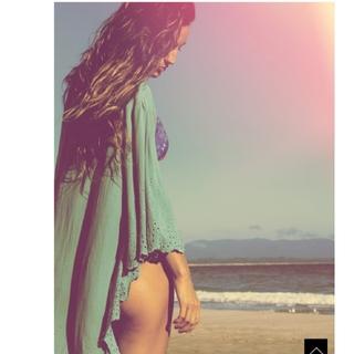 SeaRoomlynn - LEONA   サンゴカットワークガウン