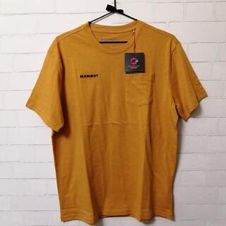 マムート(Mammut)の【新品】Mammut O T-Shirt Men アジアXL マスタード(登山用品)