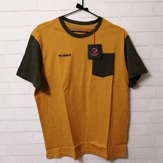 マムート(Mammut)の【新品】Mammut O T-Shirt Men アジアXL マスタード×カーキ(登山用品)