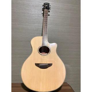 ヤマハ(ヤマハ)の【美品】YAMAHA APX600  エレアコ 底弦高調整品 マイクカスタム(アコースティックギター)