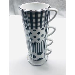Francfranc - フランフラン タワーマグカップセット Francfranc コーヒーカップ