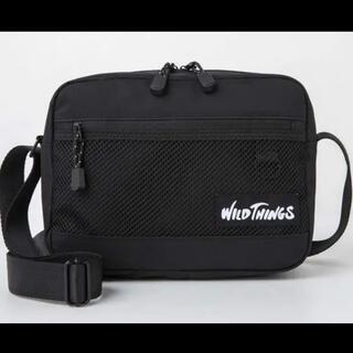 ワイルドシングス(WILDTHINGS)のWILD THINGS SHOULDER BAG BOOK BLACK ver.(ショルダーバッグ)