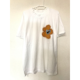 ALLEGE - TTT_MSW flower embroidery T shirt