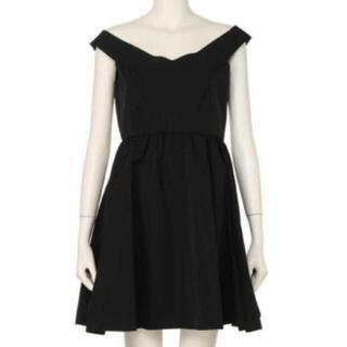 デイシー(deicy)の新品♡ DEICY BLACKドレス(ミニドレス)