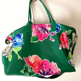 kate spade new york - ケイトスペード ショルダー付き花柄ボストンバッグ